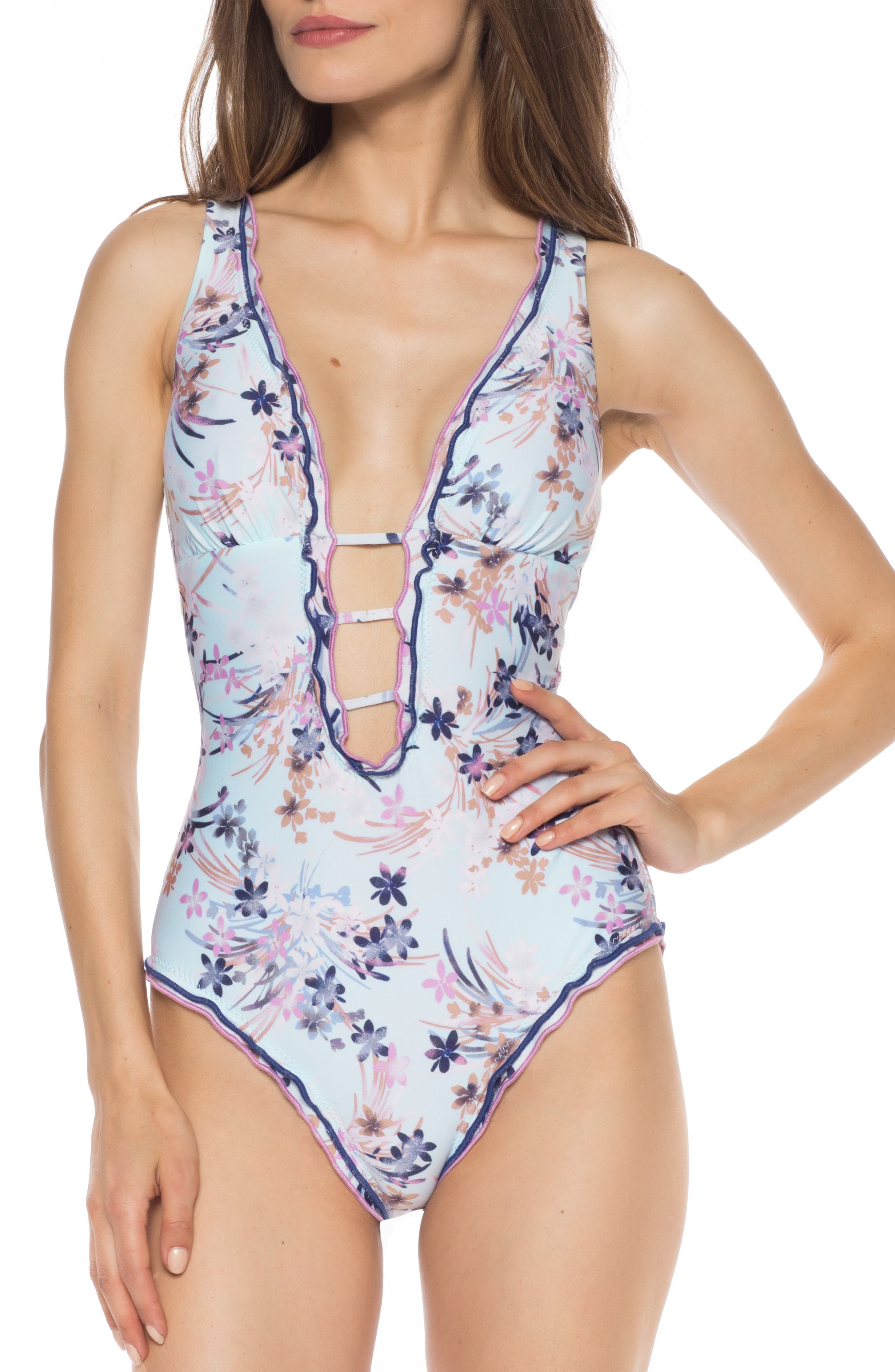 Isabella Rose Whisper Sister One-Piece Swimsuit