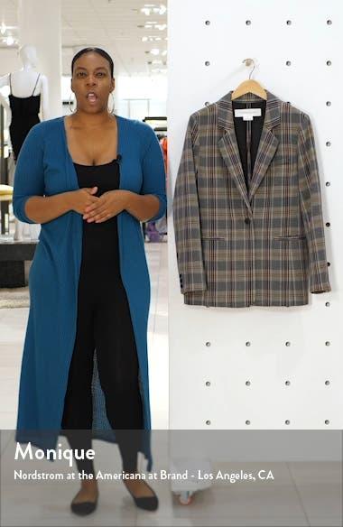 Menswear Plaid Blazer, sales video thumbnail