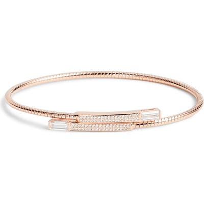 Nadri Flexi Bypass Cuff Bracelet