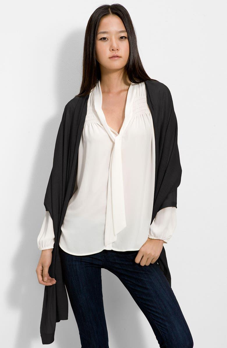HALOGEN<SUP>®</SUP> Mercerized Wool Wrap, Main, color, 001