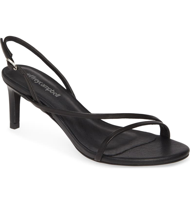 JEFFREY CAMPBELL Morph Slingback Sandal, Main, color, BLACK
