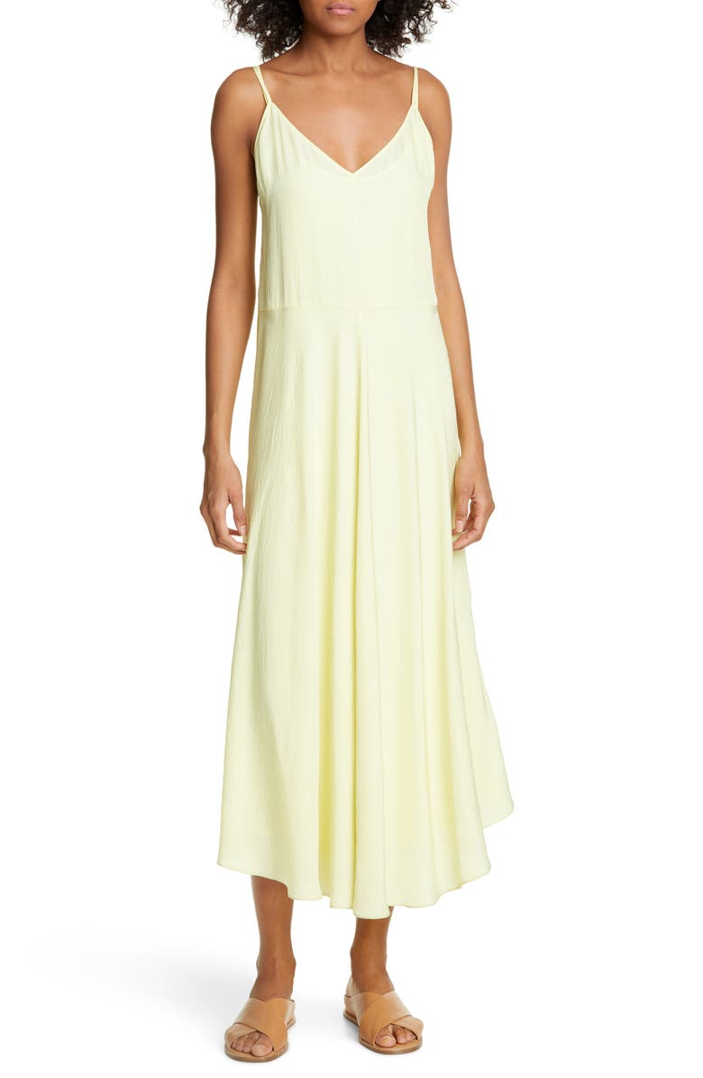 Vince Double Layer Midi Dress