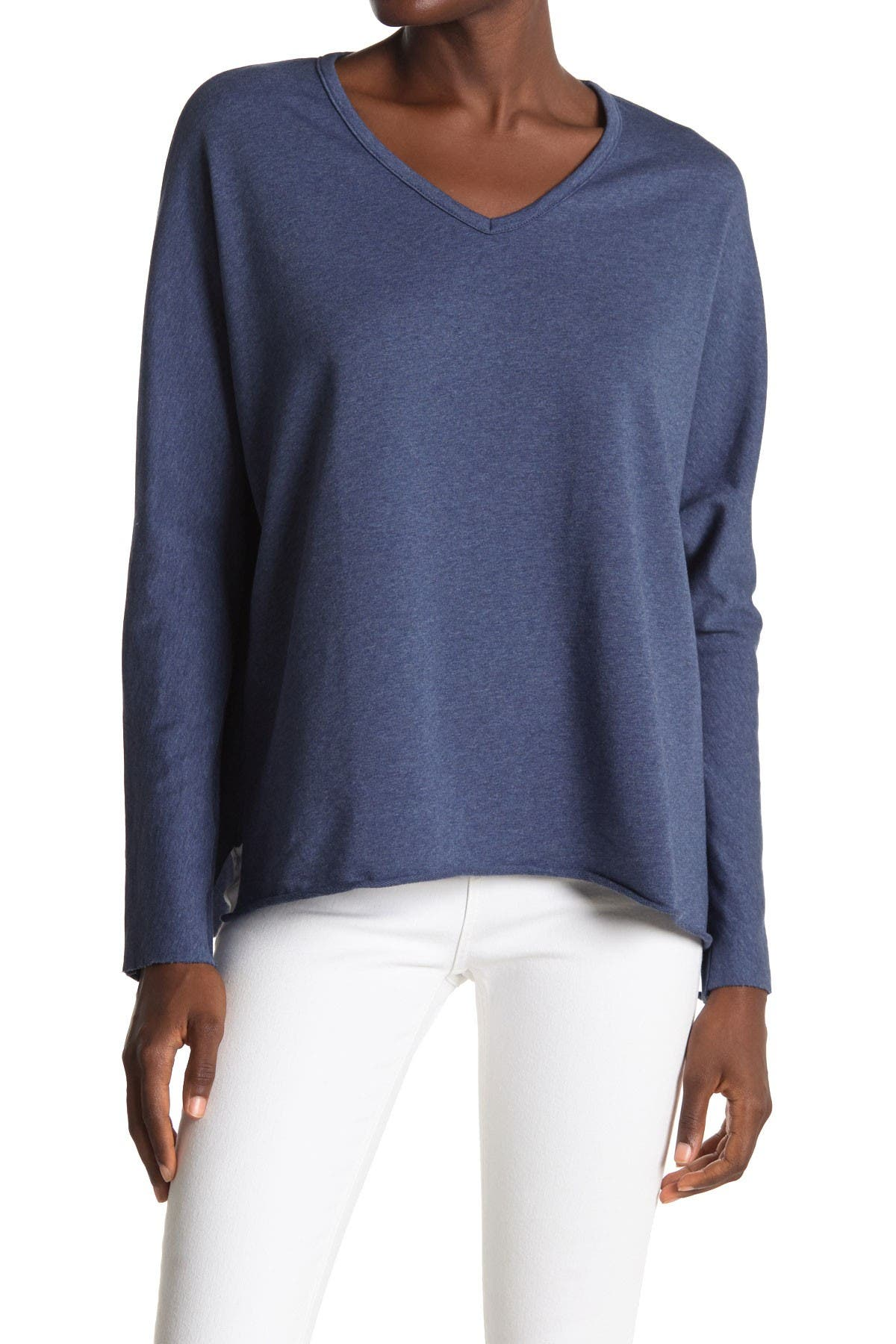 Image of FRANK & EILEEN Knit V-Neck Pullover Sweater