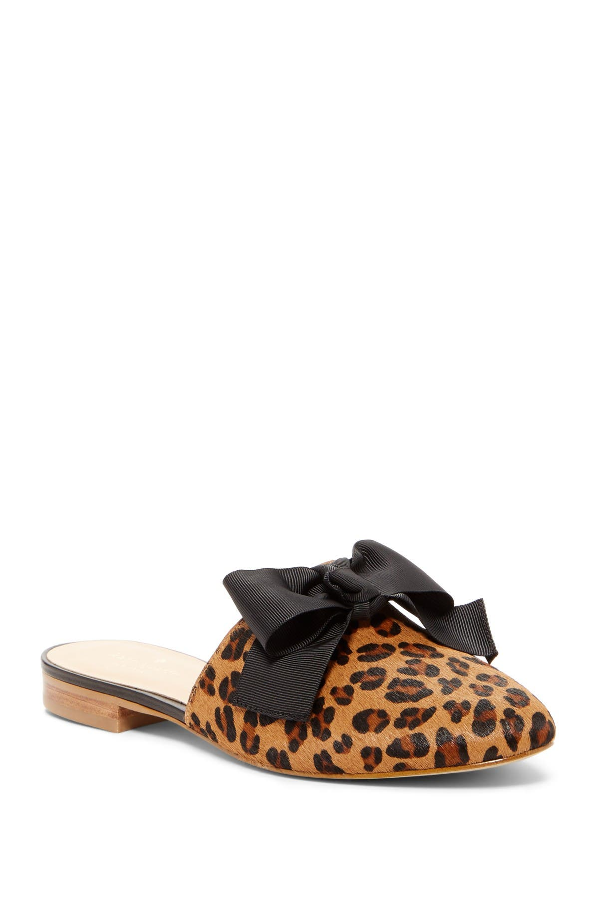 madra leopard print genuine calf hair