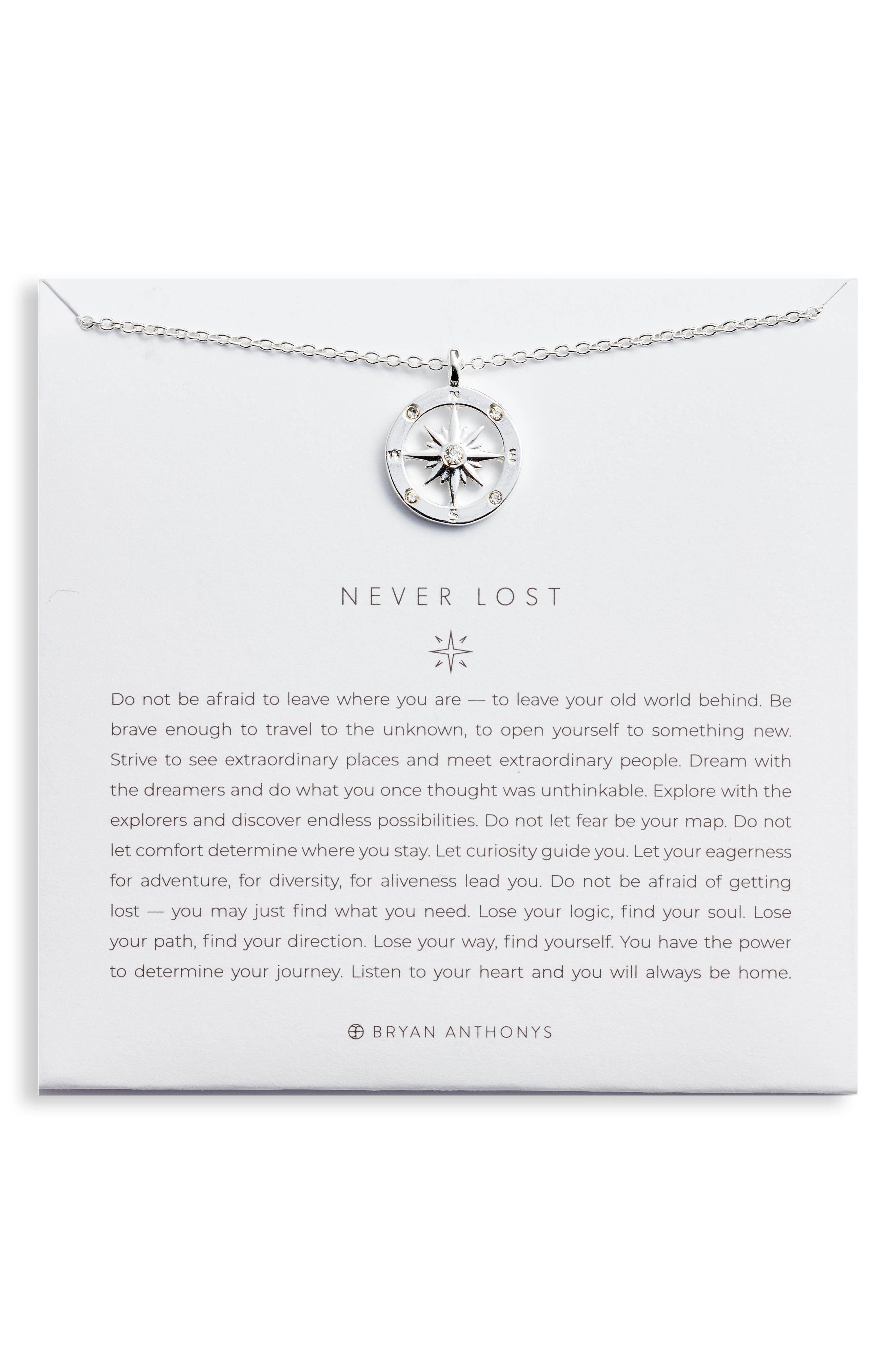 Never Lost Necklace in 14K Gold at Nordstrom