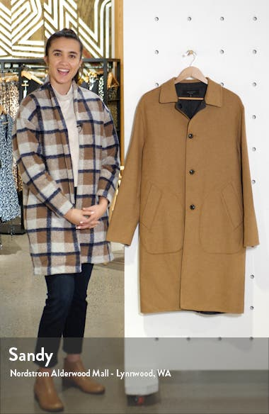 Brent Reversible Wool Blend Coat, sales video thumbnail