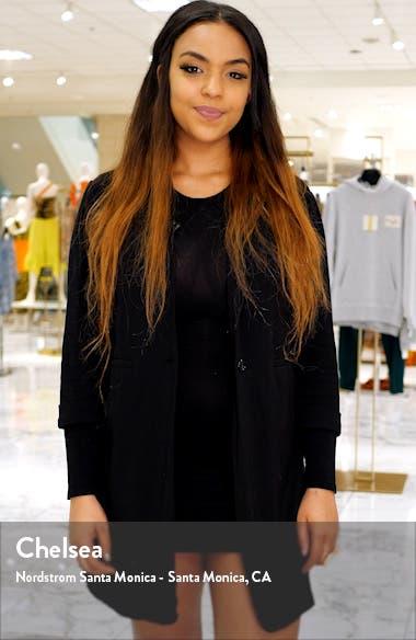 Grier Mix Stripe Wrap Dress, sales video thumbnail