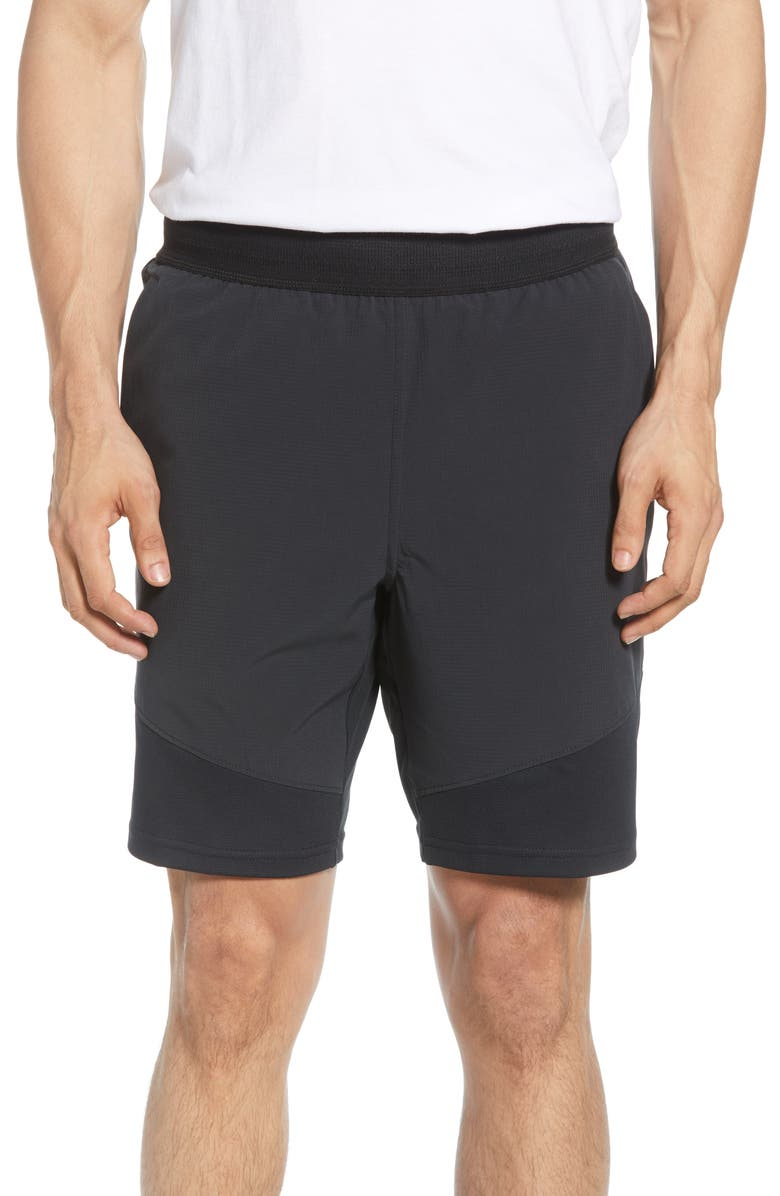NIKE Flex Tech Track Shorts, Main, color, BLACK/ BLACK