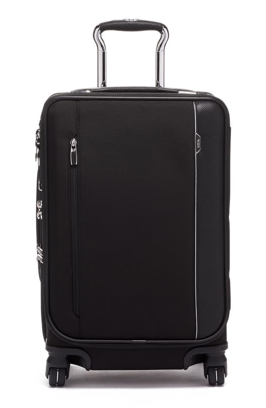 Tumi Arrive' International Dual Access 4 Wheeled Carry-on In Black