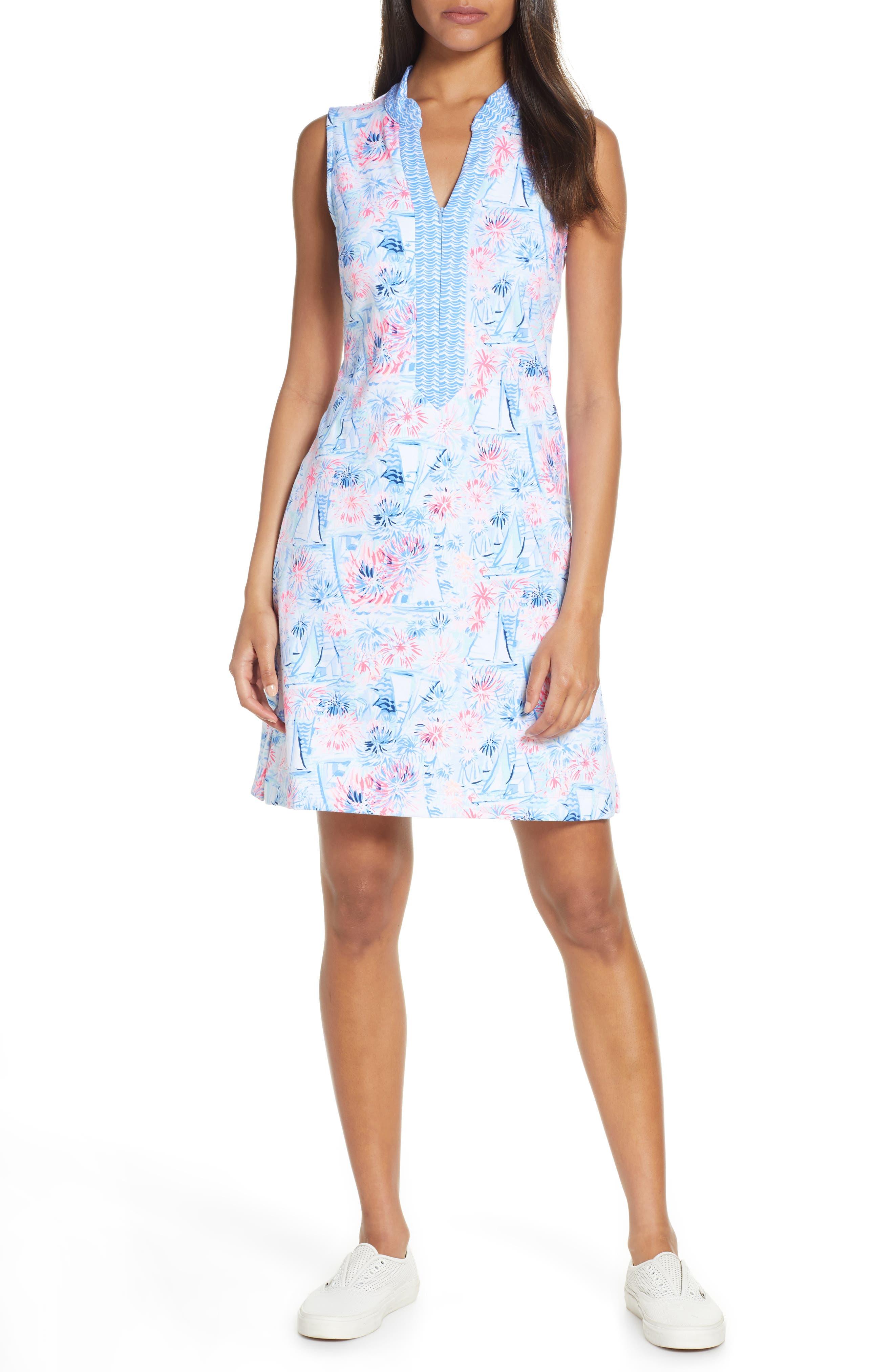 Lilly Pulitzer Larsen Shift Dress, Blue
