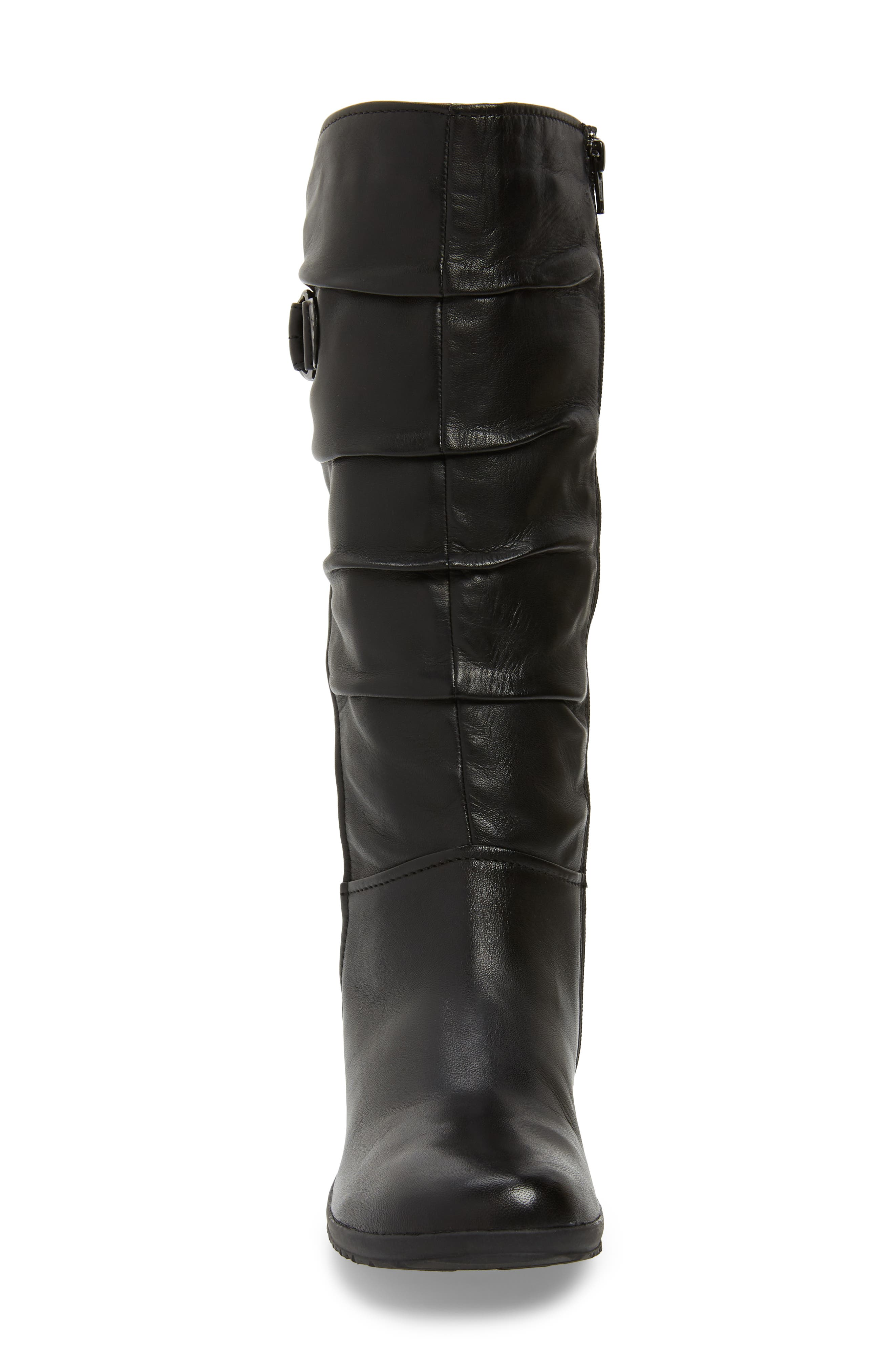,                             Naly 23 Boot,                             Alternate thumbnail 4, color,                             BLACK LEATHER