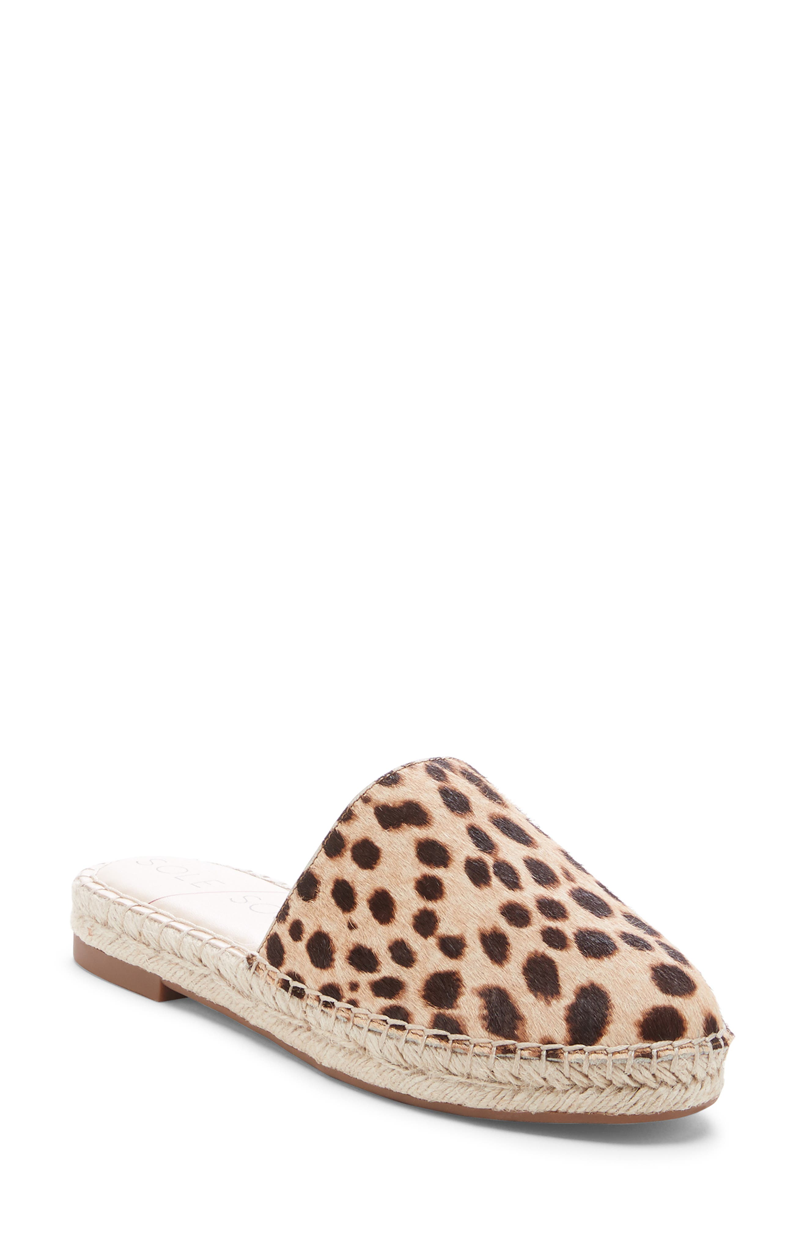 Sole Society Sadelle Espadrille Mule, Brown