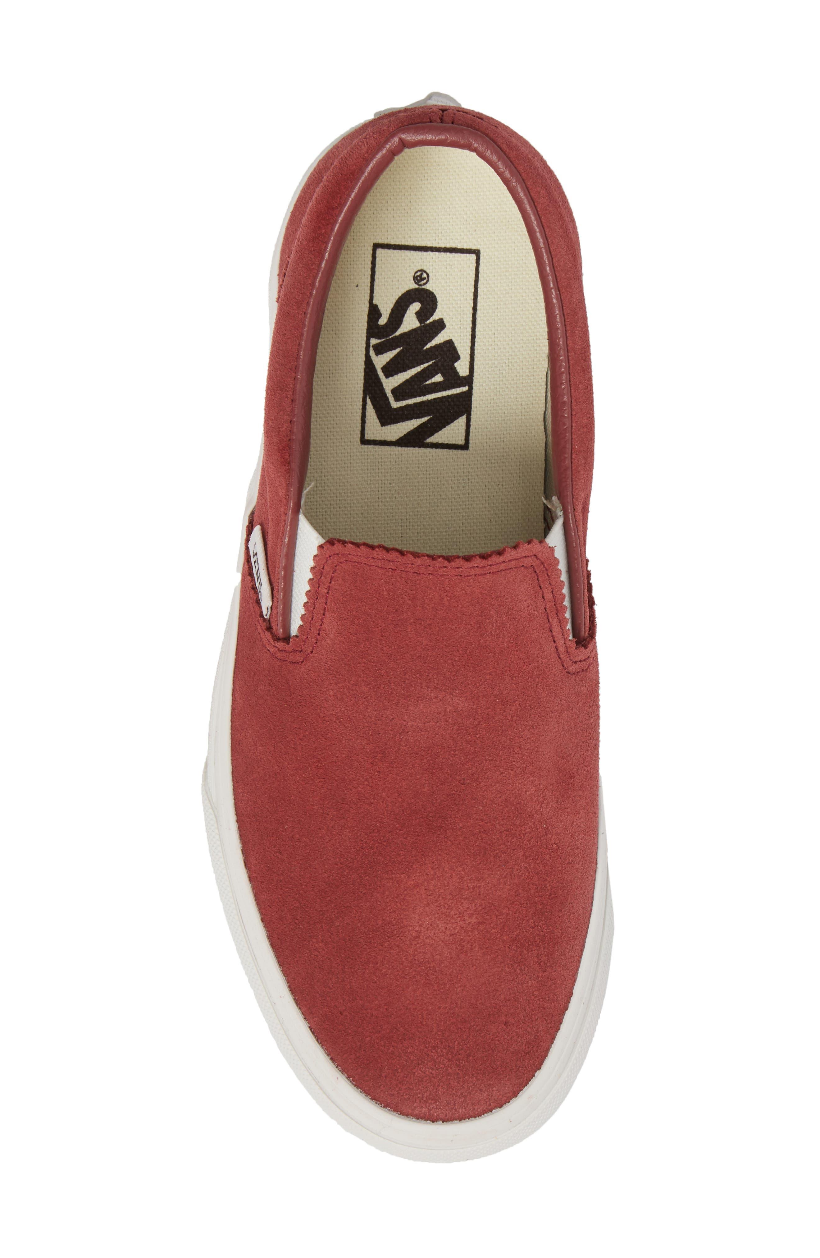 ,                             Classic Slip-On Sneaker,                             Alternate thumbnail 181, color,                             600