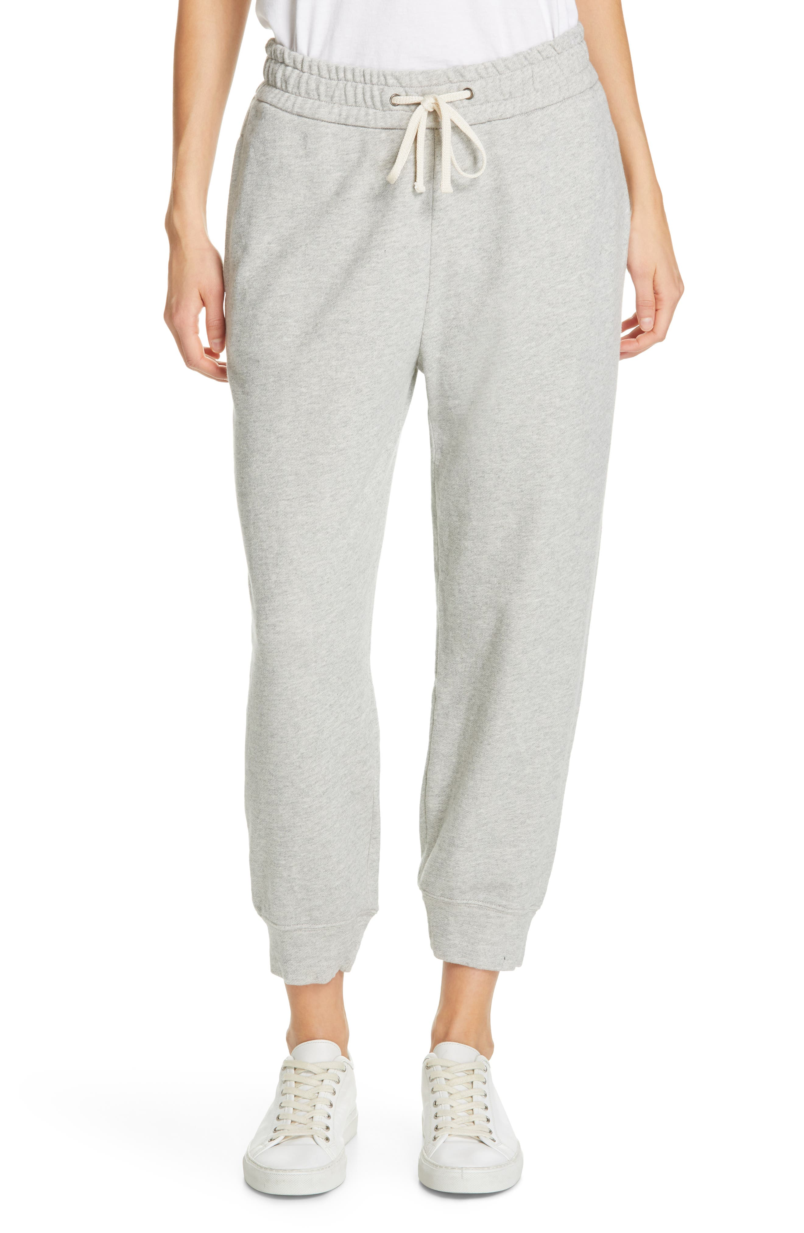 James Perse Relaxed Luxe Sweatpants, Grey