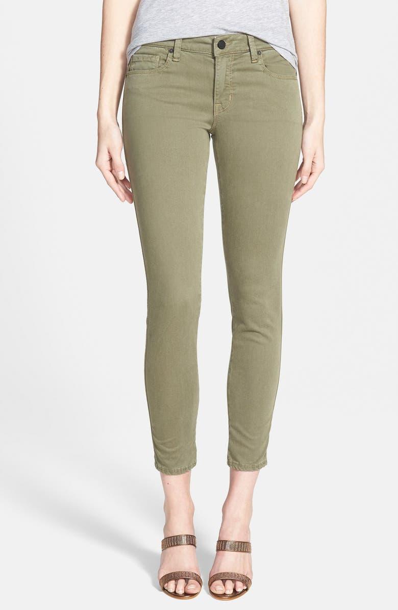 GENETIC 'Daphne' Mid Rise Crop Jeans, Main, color, 300