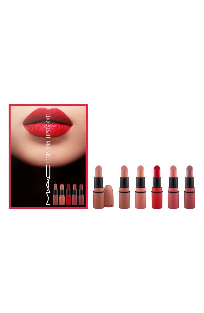 MAC COSMETICS MAC Idols Mini Lipstick Kit, Main, color, 000