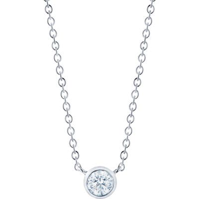 Kwiat Diamond Circle Pendant Necklace