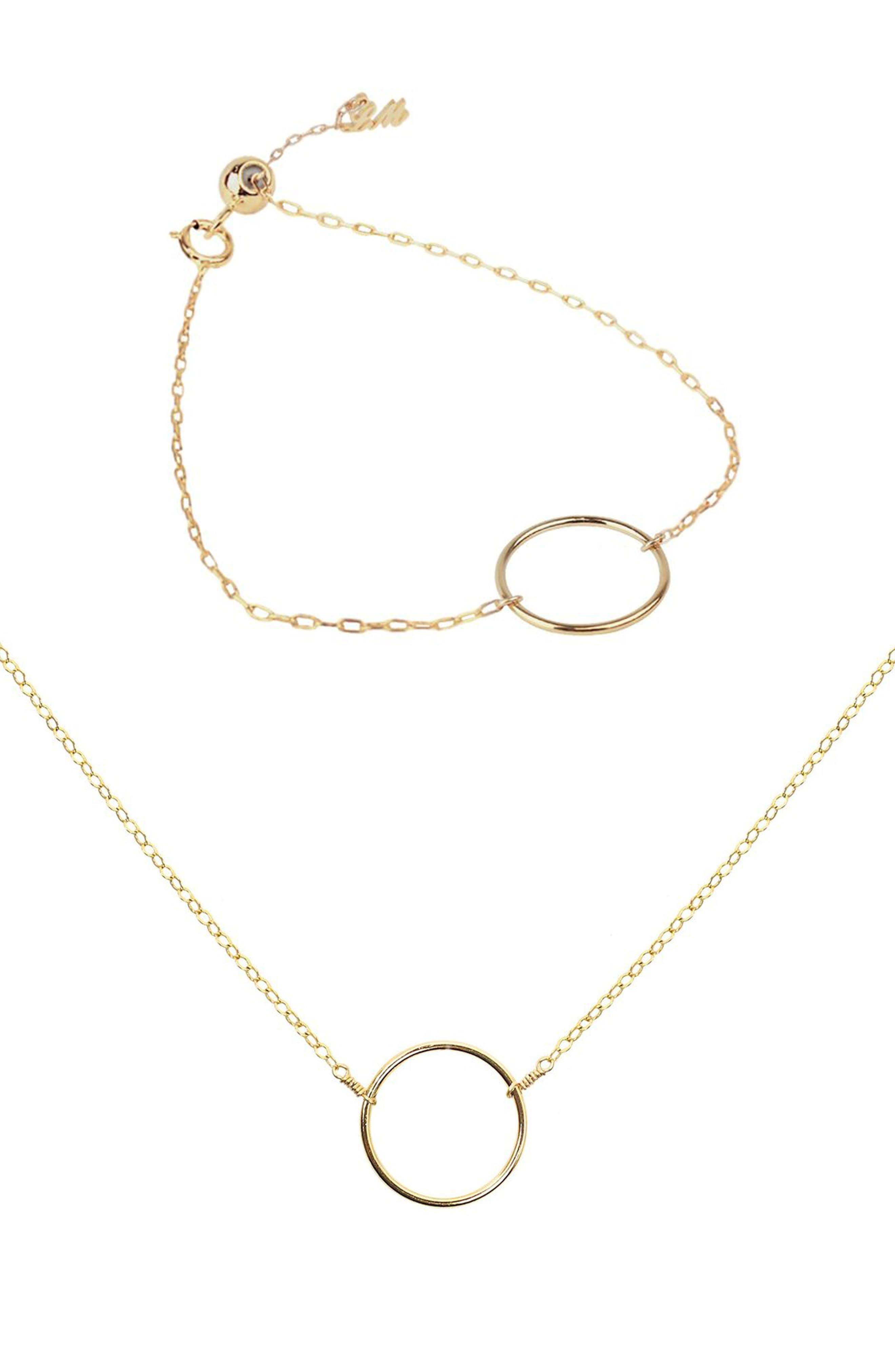 Lucky Charm Necklace & Bracelet Set