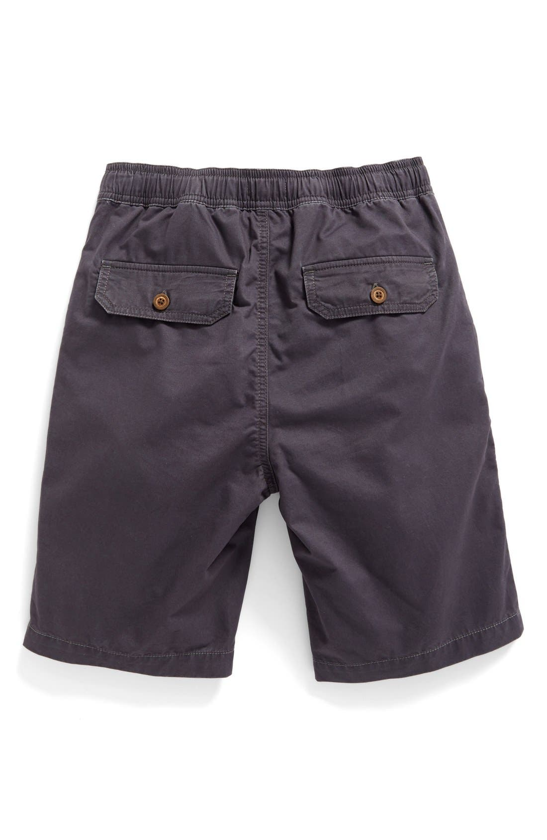 ,                             Cotton Twill Shorts,                             Alternate thumbnail 6, color,                             022