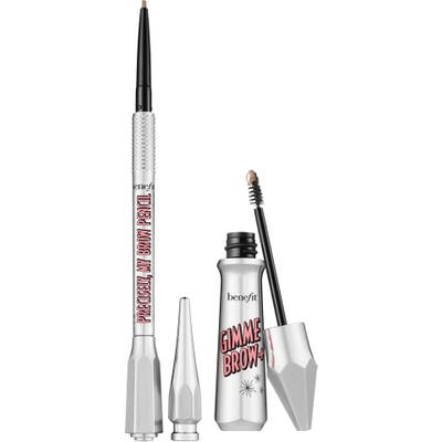 Benefit Gimme Precise Brows Full Size Set - Shade 1- Cool Light Blonde (Nordstrom Exclusive) ($48 Value)