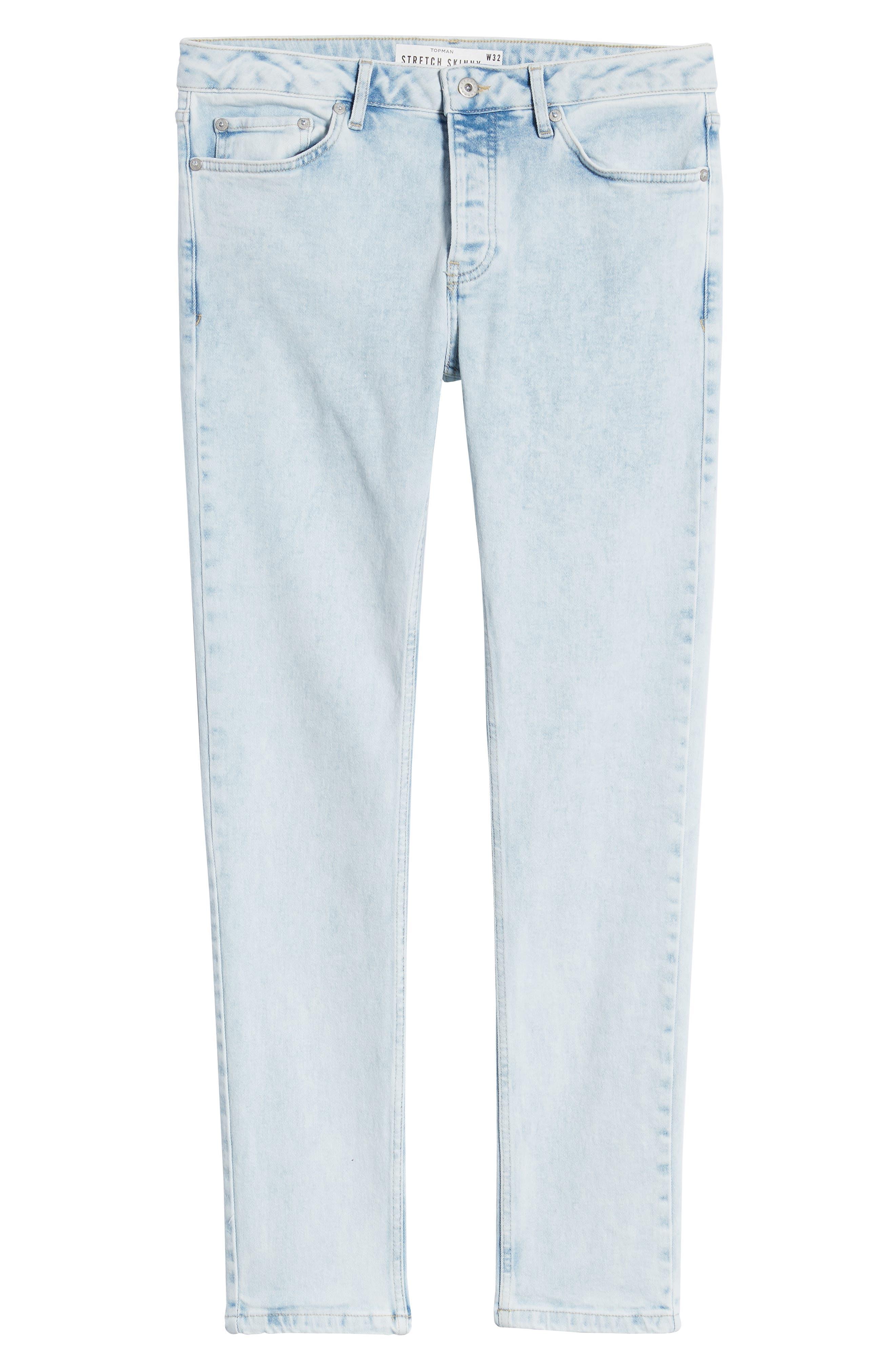 ,                             Ivan Skinny Jeans,                             Alternate thumbnail 7, color,                             BLUE