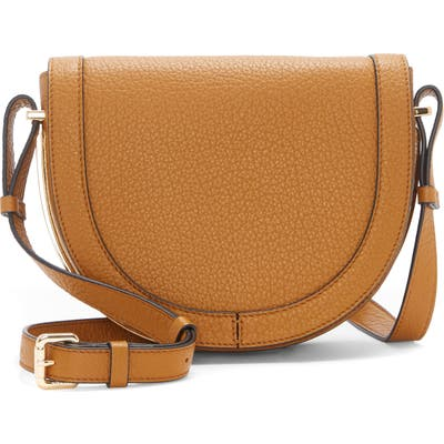 Vince Camuto Clyde Leather Crossbody Bag - Brown