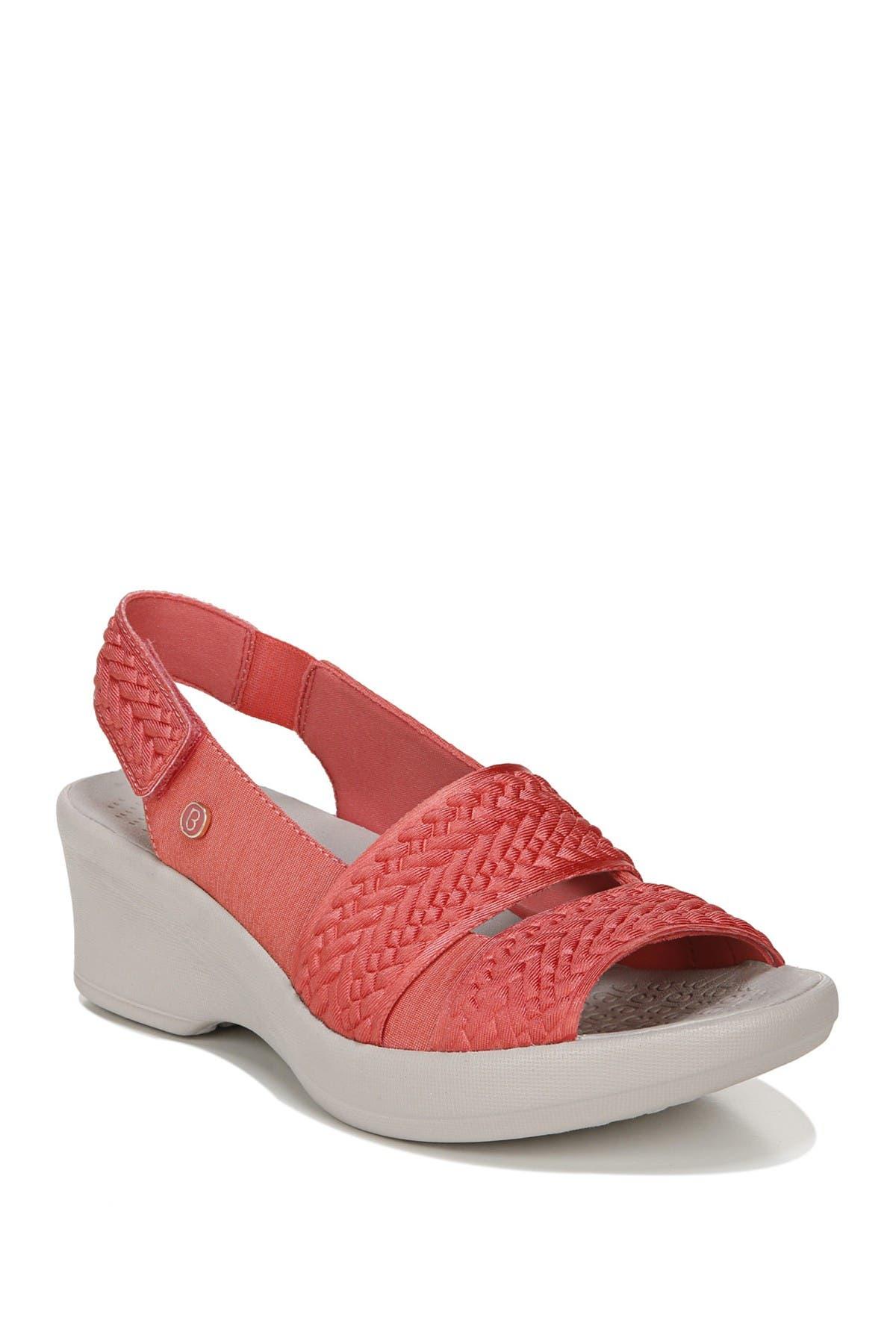 Image of BZEES Fiona Weave Wedge Sandal
