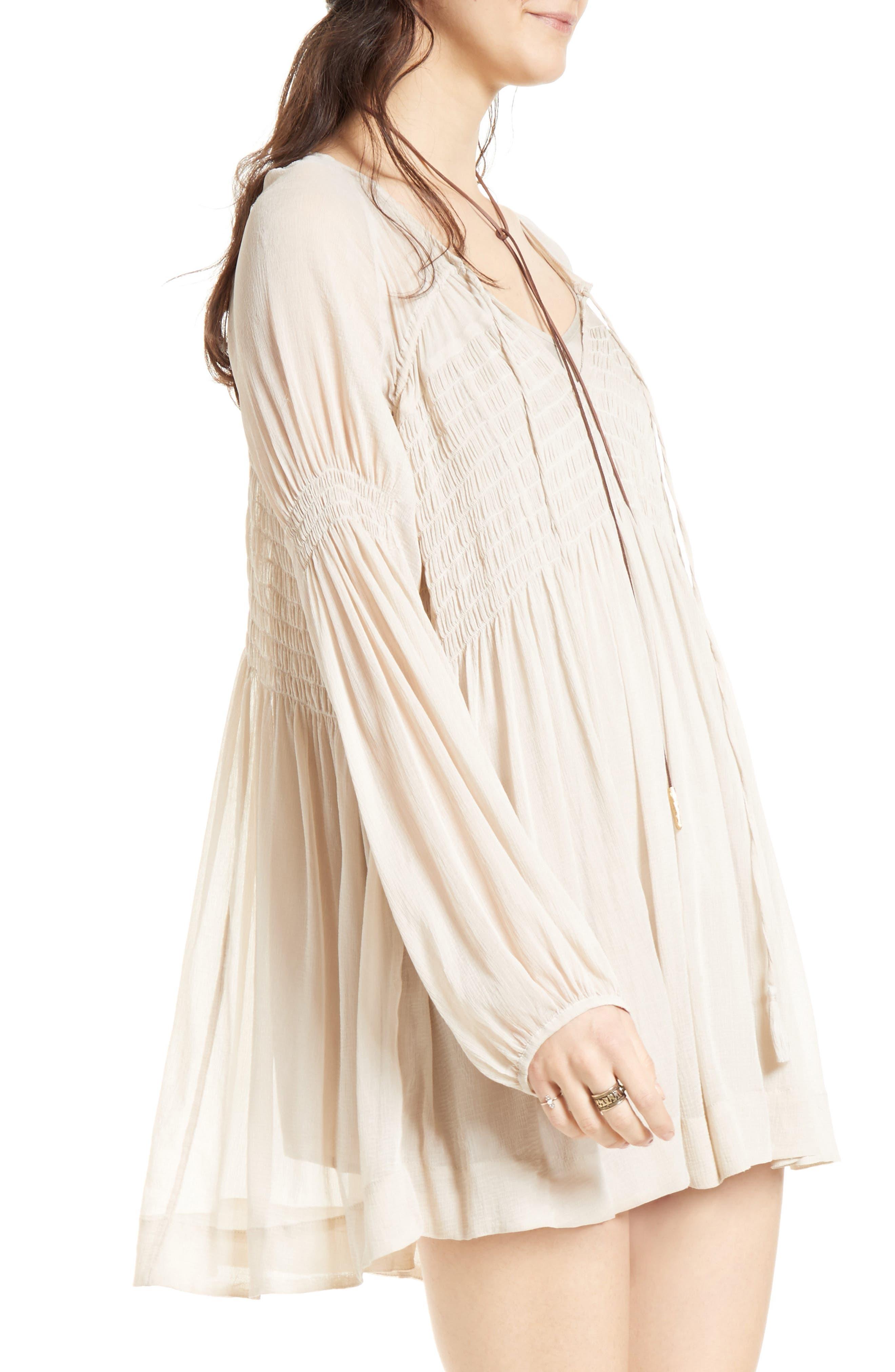 ,                             Lini Babydoll Dress,                             Alternate thumbnail 4, color,                             030