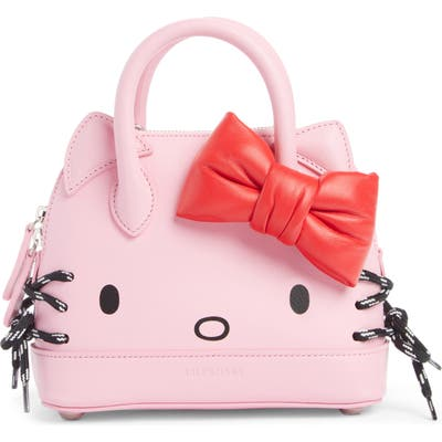 Balenciaga X Hello Kitty Xxs Top Handle Bag - Pink