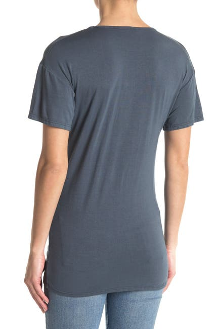 Image of Go Couture Scoop Neck T-Shirt