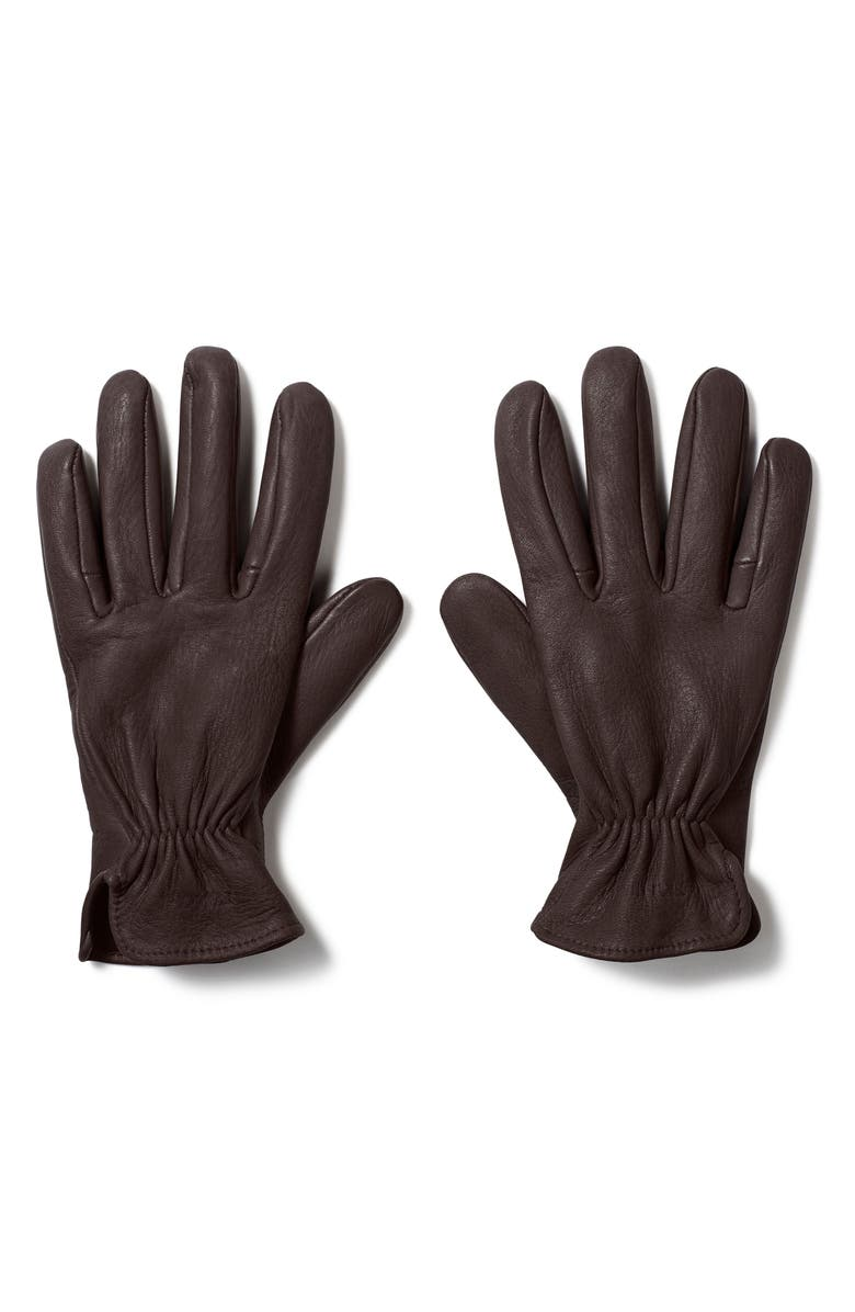 FILSON Original Deer Work Gloves, Main, color, BROWN