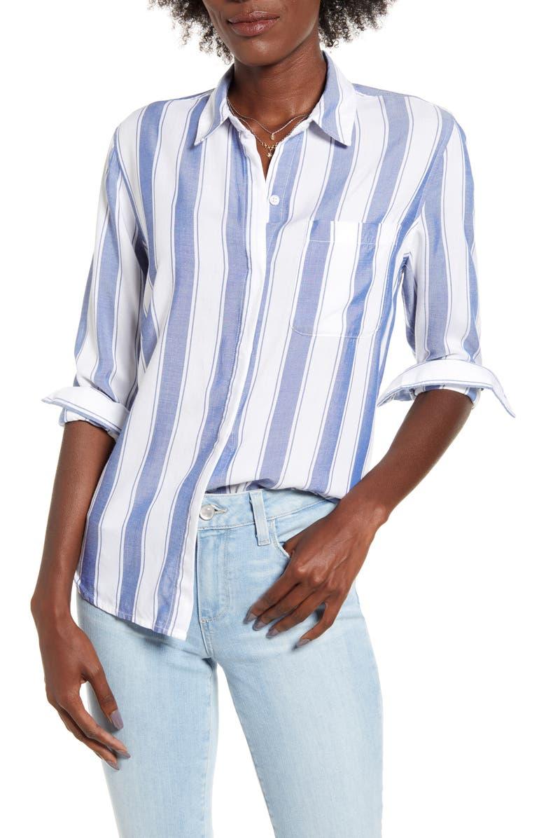 RAILS Hayden Shirt, Main, color, ANDORRA STRIPE