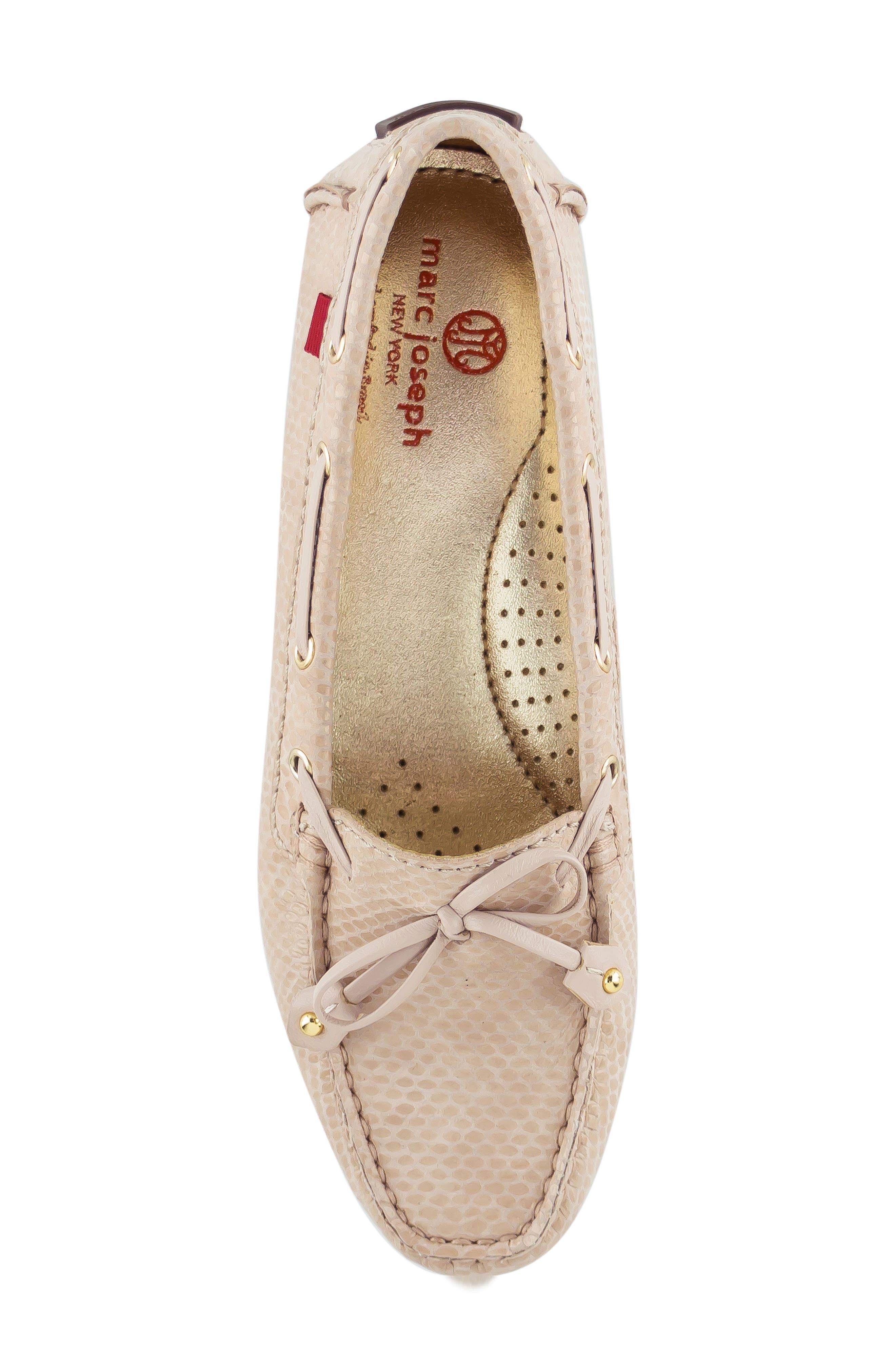 ,                             'Cypress Hill' Loafer,                             Alternate thumbnail 5, color,                             BLUSH SNAKE PRINT LEATHER