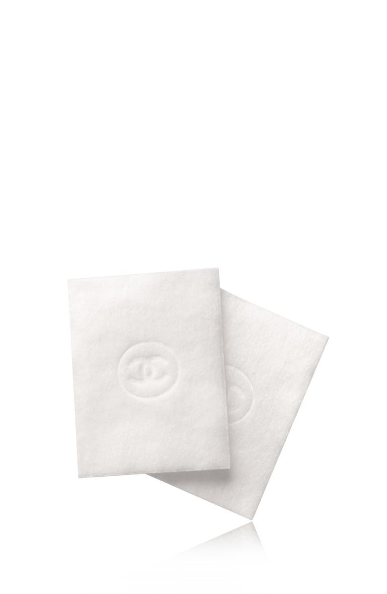 CHANEL LE COTON <br />Extra Soft Cotton Pads, Main, color, NO COLOR