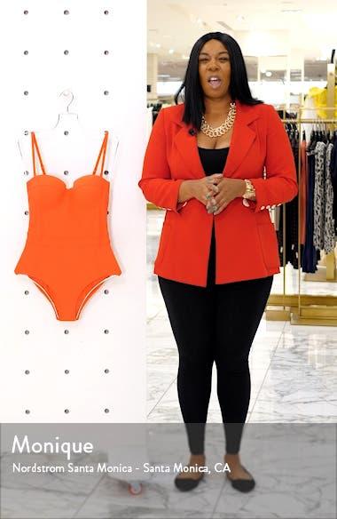 Lipsi Colorblock Underwire One-Piece Swimsuit, sales video thumbnail