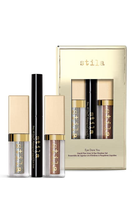 Image of Stila Eye Dare You 3-Piece Liquid Eyeliner & Eyeshadow Set