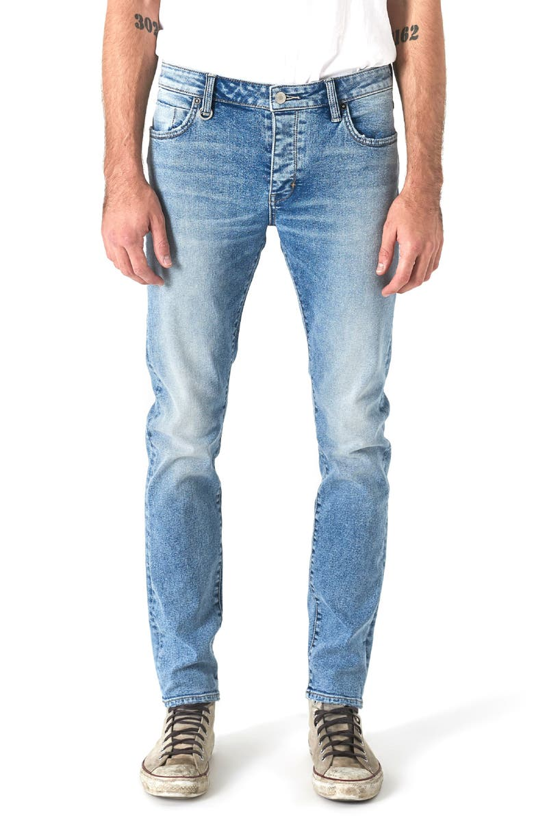 NEUW Iggy Skinny Fit Jeans, Main, color, ABSTRAKT BLUE