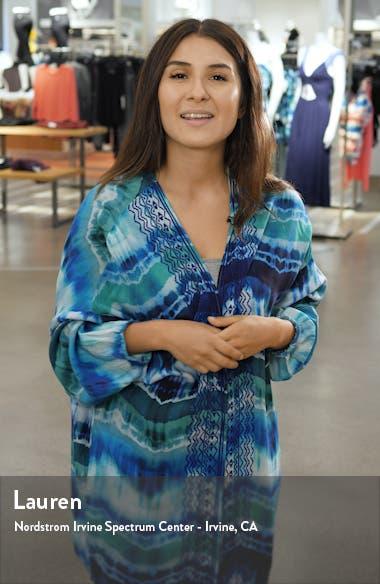 Zoeii One-Shoulder Faux Wrap Dress, sales video thumbnail