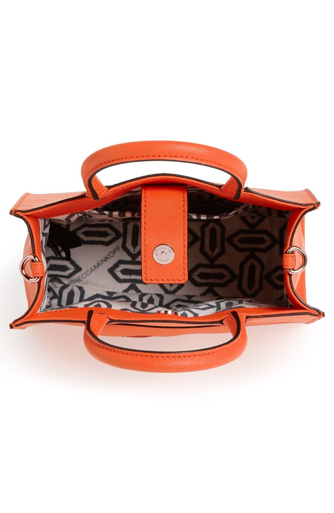 ,                             'Mini MAB Tote' Crossbody Bag,                             Alternate thumbnail 144, color,                             810
