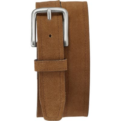 Trask Sutton Belt, Snuff English Suede