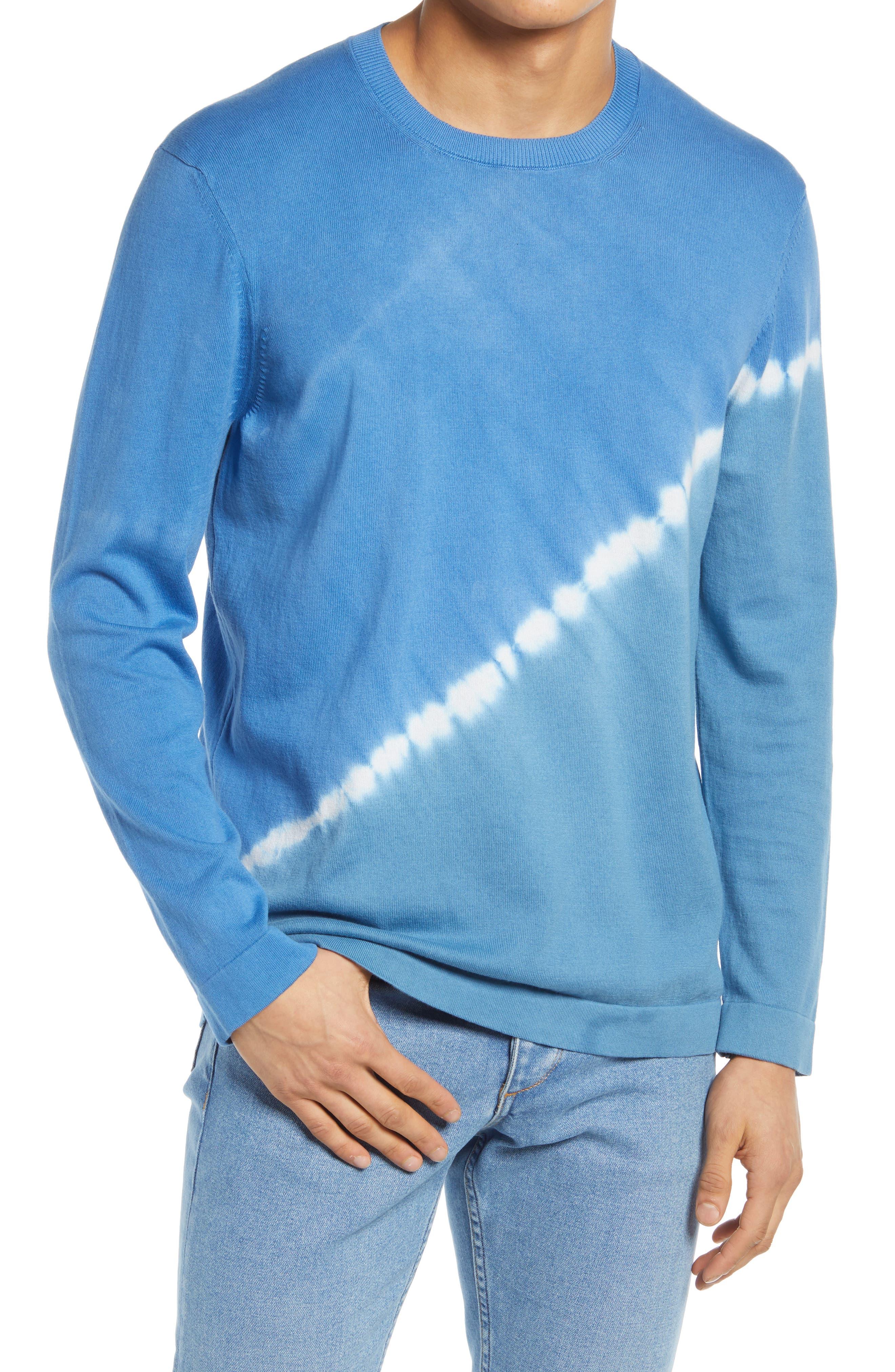 Dip Dye Cotton Sweater