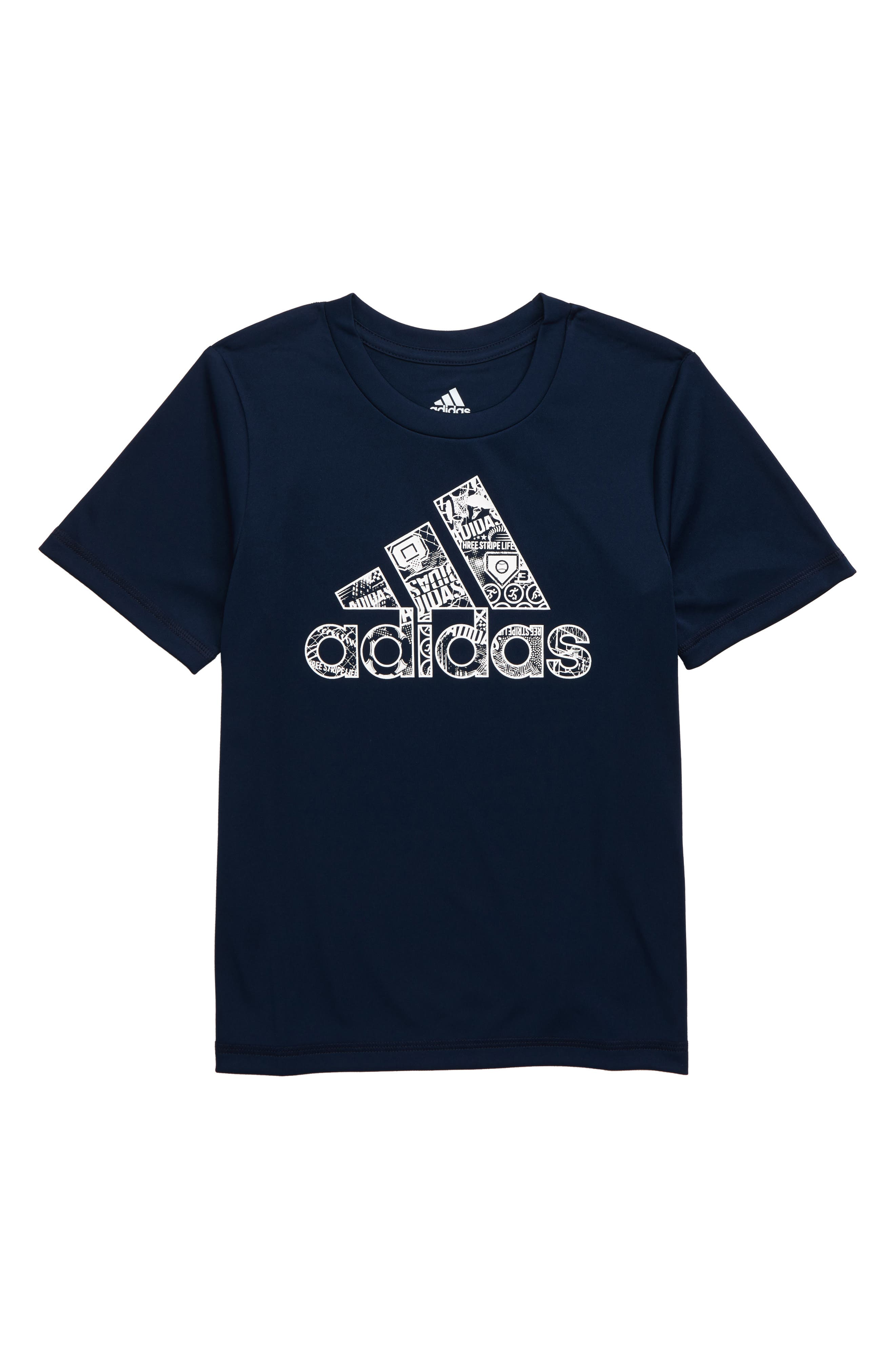 Multi Sport T-Shirt, Main, color, NAVY