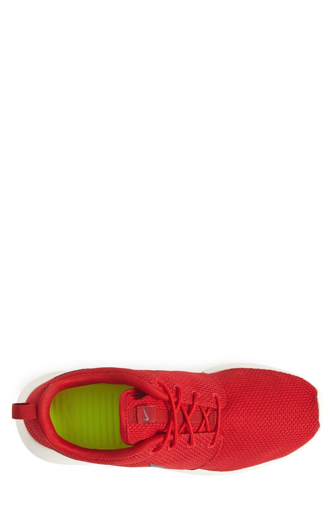,                             'Roshe Run' Sneaker,                             Alternate thumbnail 126, color,                             601