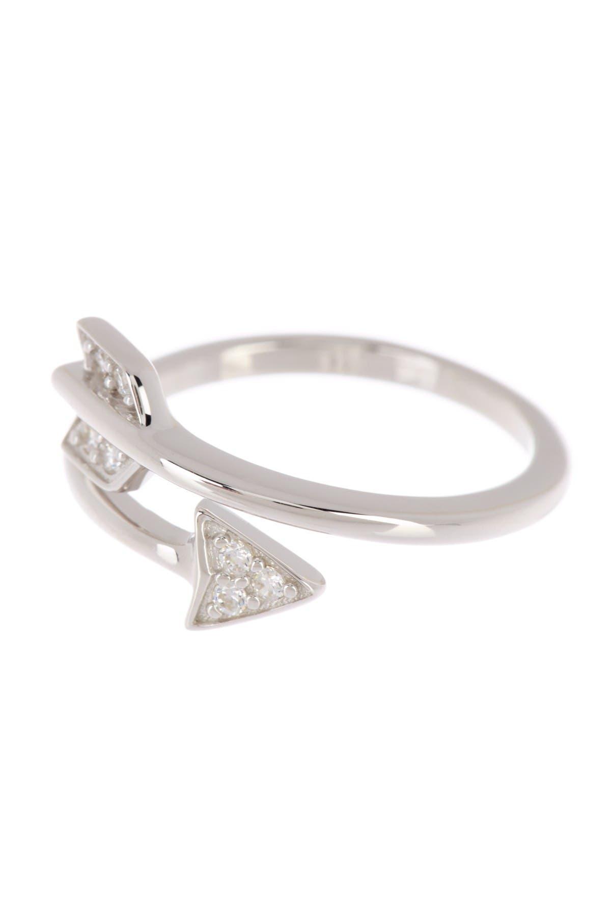 Ring ankle ring fine Ros\u00e9 gold Gr 52 stack ring
