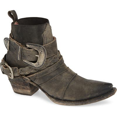 Lane Boots X Junk Gypsy Hwy 237 Bootie, Black