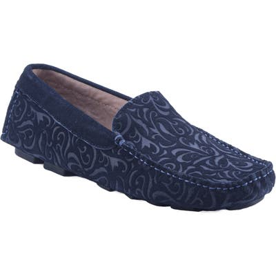 Robert Graham Hearst Driving Shoe- Blue