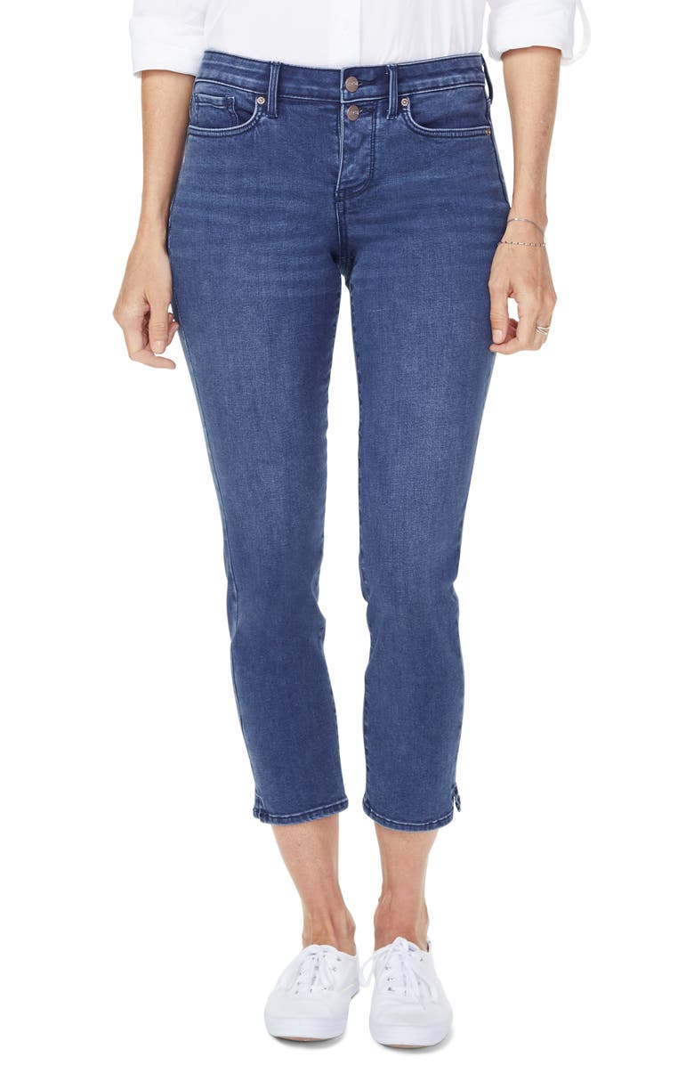 NYDJ Sheri Stretch Ankle Jeans, Main, color, NEVIN