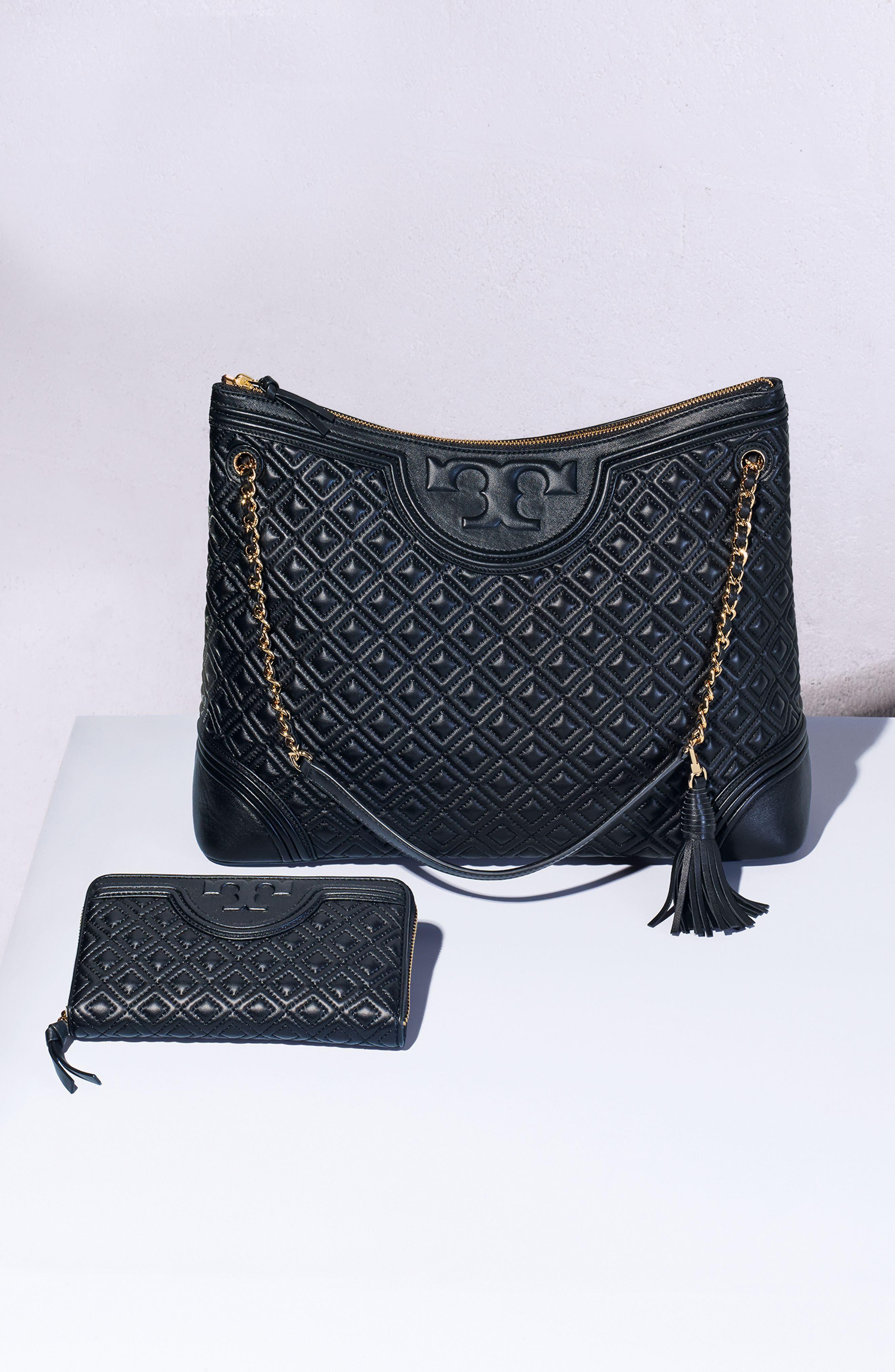 ,                             'Fleming' Leather Shoulder Bag,                             Alternate thumbnail 8, color,                             012
