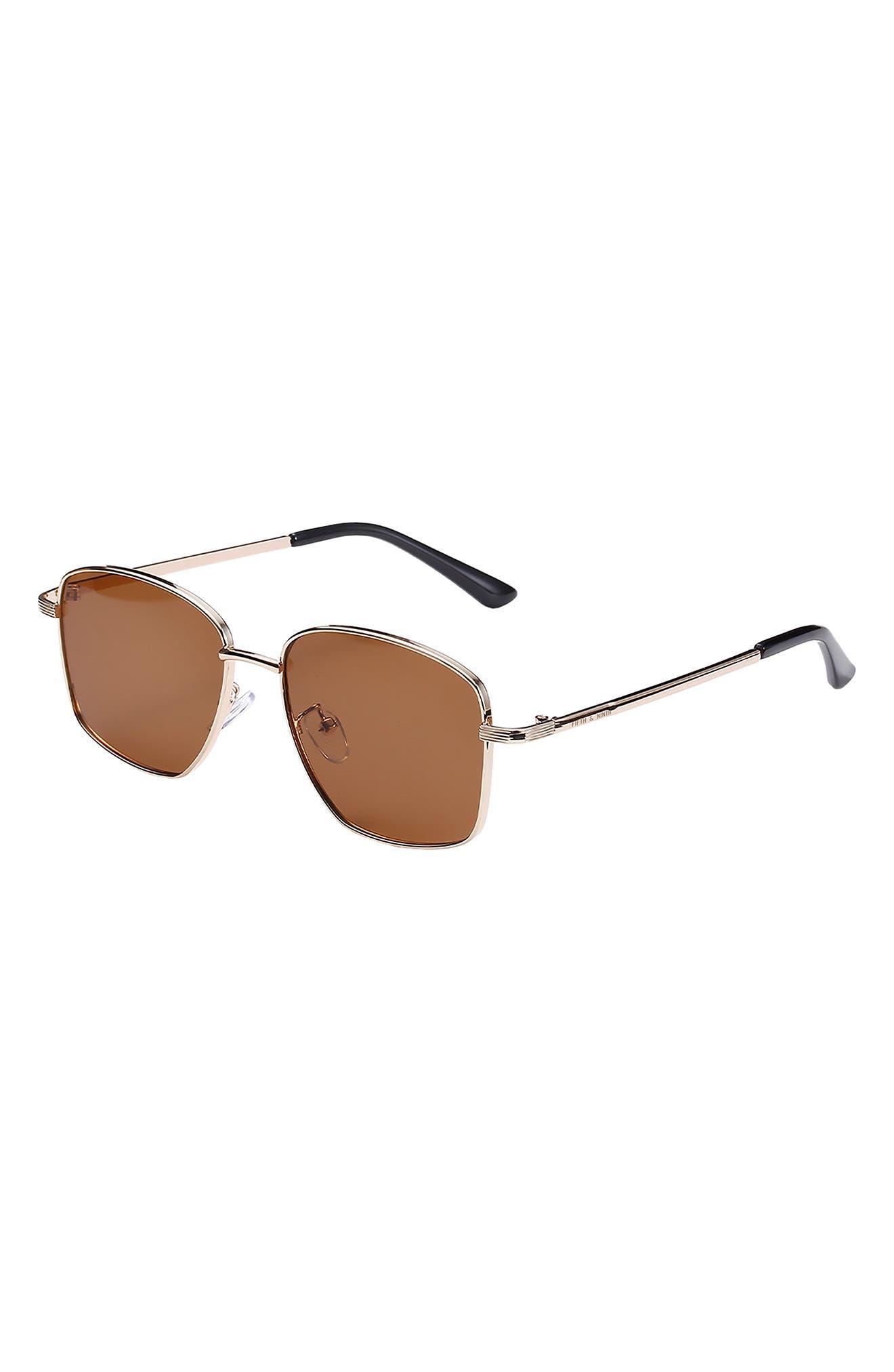 Monterey 56mm Square Sunglasses