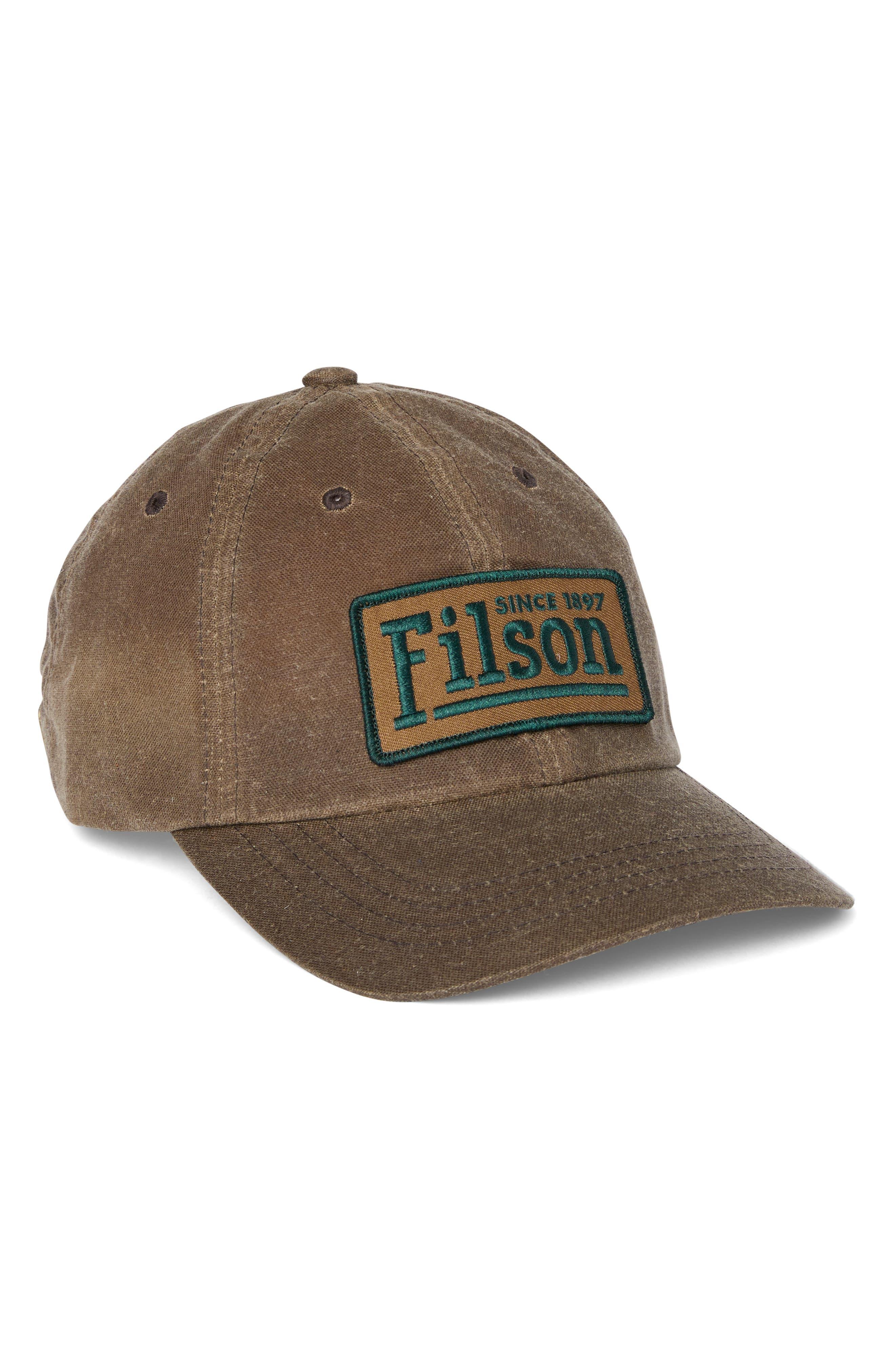 Low Profile Logo Patch Baseball Hat